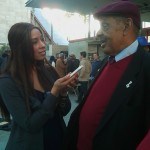 Kaylene Peoples interviews Ernie Andrews after his perfromance at LACMA on May 23, 2012