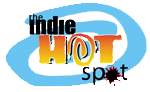 The Indie Hotspot logo designed by Marcangelo Perricelli