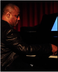 Pianist Kevin Flournoy, Photo by Arun Nevader