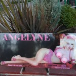 Golf Ball Art by Angelyne