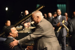 Bobby Lyle and Joe Sample (Image: Scott Mitchell)